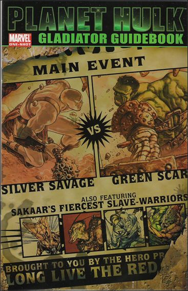 Planet Hulk: Gladiator Guidebook nn-A by Marvel
