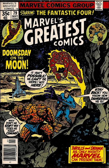 Marvel's Greatest Comics 79-A by Marvel