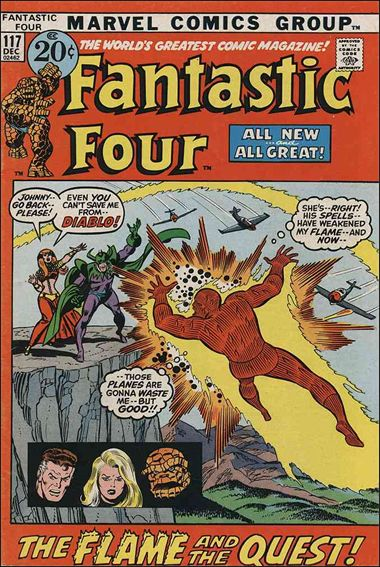 Fantastic Four (1961) 117-A by Marvel