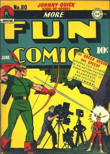 More Fun Comics 80-A by DC