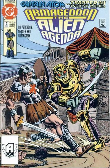 Armageddon: Alien Agenda 2-A by DC