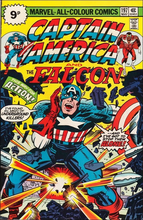 Captain America (1968) 197-C by Marvel