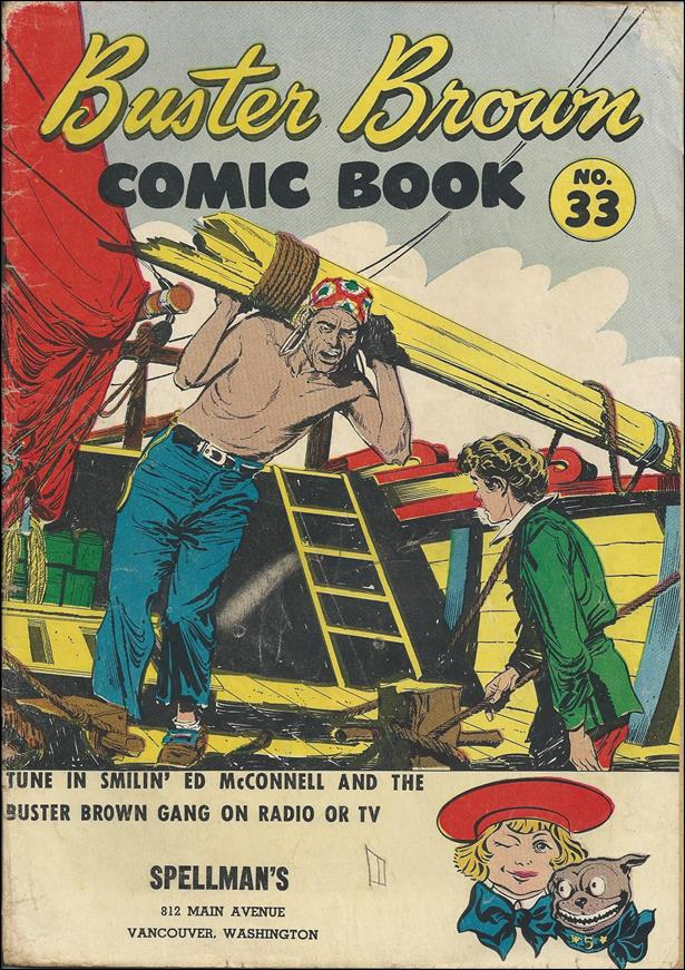 Buster Brown Comics 33-B by Brown Shoe Co.