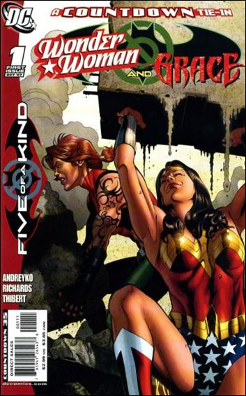 Outsiders: Five of a Kind - Wonder Woman/Grace 1-A by DC