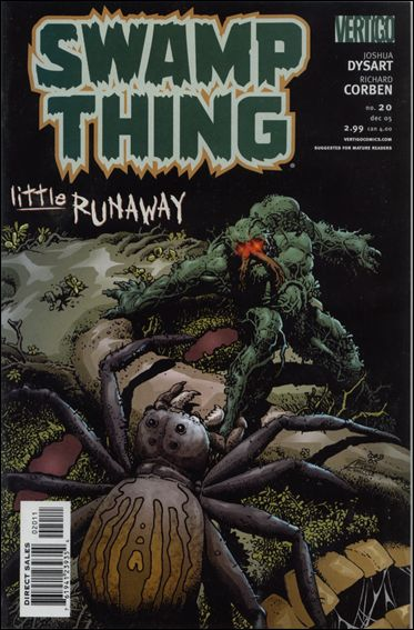 Swamp Thing (2004) 20-A by Vertigo