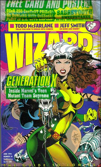 Wizard: The Guide to Comics 34-A by Wizard Press