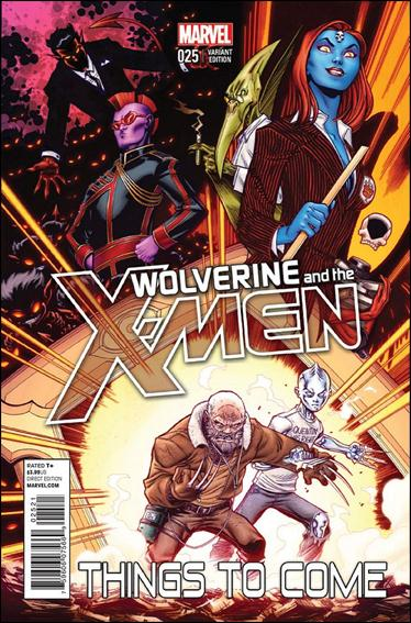 Wolverine & the X-Men 25-B by Marvel