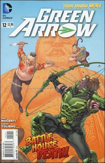 Green Arrow (2011) 12-A by DC