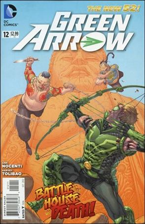 Green Arrow (2011) 12-A