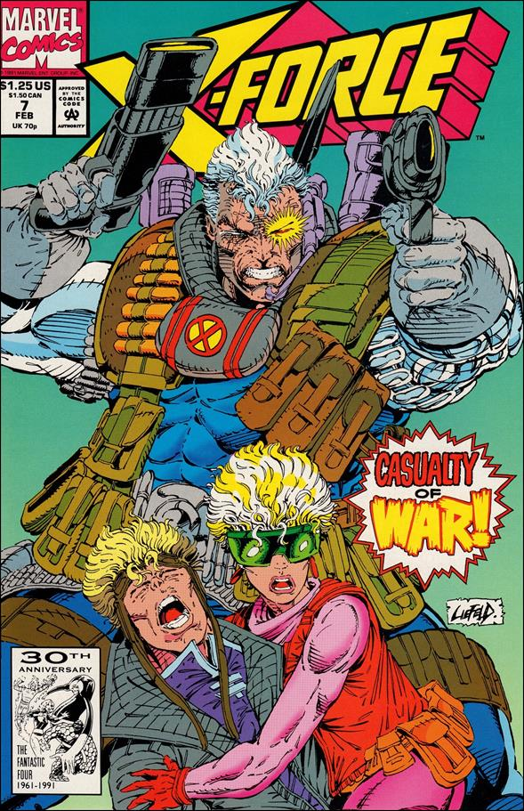 X-Force (1991) 7-A by Marvel