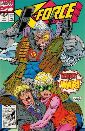 X-Force (1991) 7-A