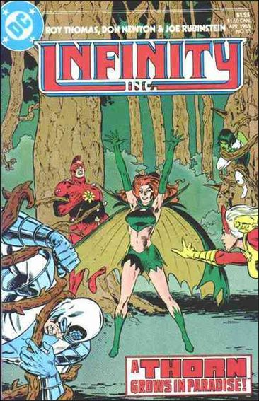 Infinity Inc. (1984) 13-A by DC