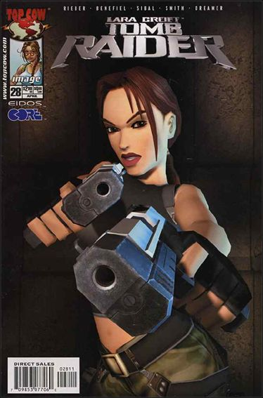 Tomb Raider: The Series 28-A by Top Cow