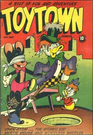 Toy Town Comics  7-A by Toytown