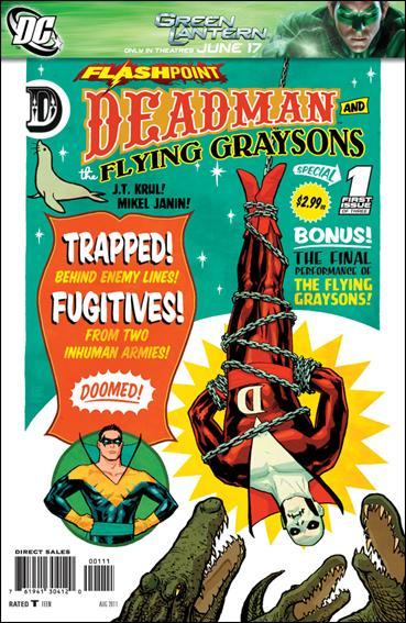 Flashpoint: Deadman & the Flying Graysons 1-A by DC