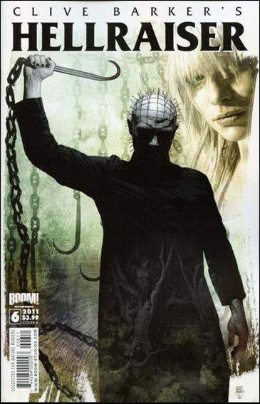 Clive Barker's Hellraiser (2011) 6-A by Boom! Studios