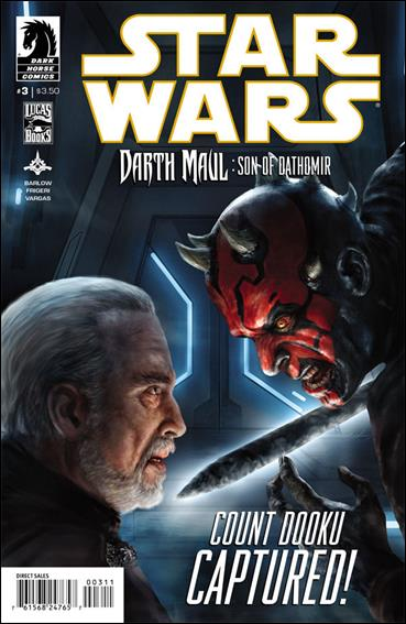 Star Wars: Darth Maul - Son of Dathomir 3-A by Dark Horse