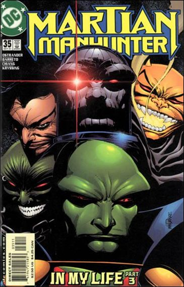 Martian Manhunter (1998) 35-A by DC