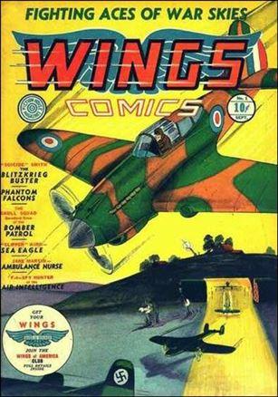 Wings Comics (1940) 1-A