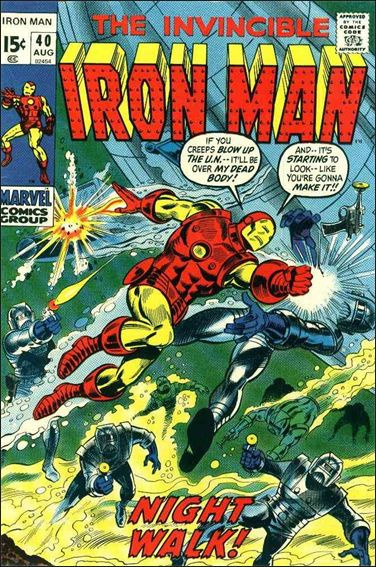 Iron Man (1968) 40-A by Marvel