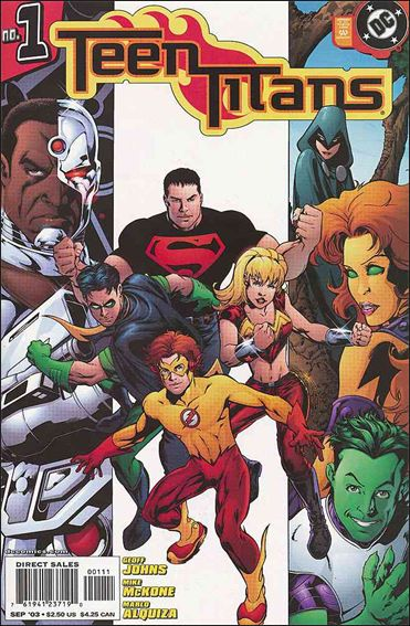 Teen Titans (2003) 1-A by DC