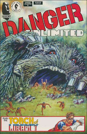 Danger Unlimited 4-A by Dark Horse