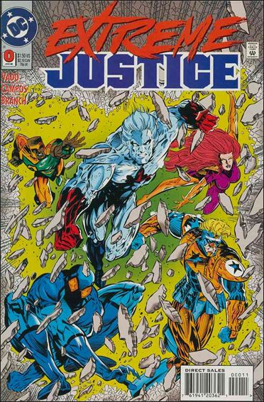 Extreme Justice 0-A by DC