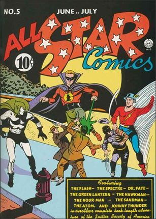 All Star Comics (1940) 5-A