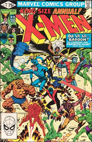 Uncanny X-Men Annual (1970) 5-A by Marvel