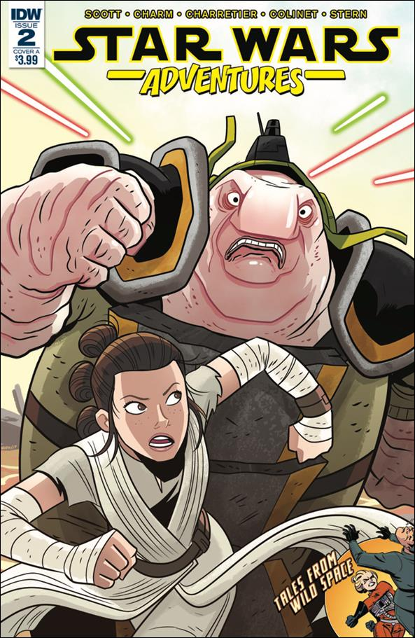 Star Wars Adventures 2-A by IDW