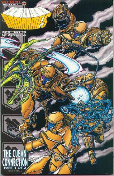 Armorines (1993) 10-A by Valiant
