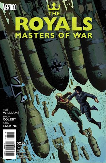 Royals: Masters of War 5-A by Vertigo