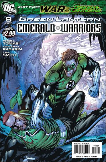 Green Lantern: Emerald Warriors 8-B by DC
