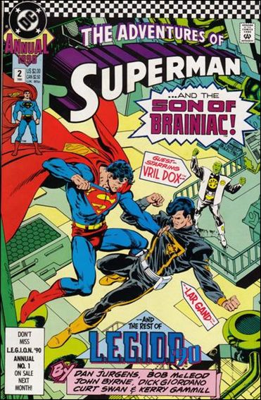 Adventures of Superman Annual 2-A by DC