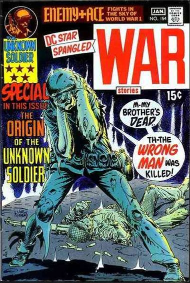Star Spangled War Stories (1952) 154-A by DC