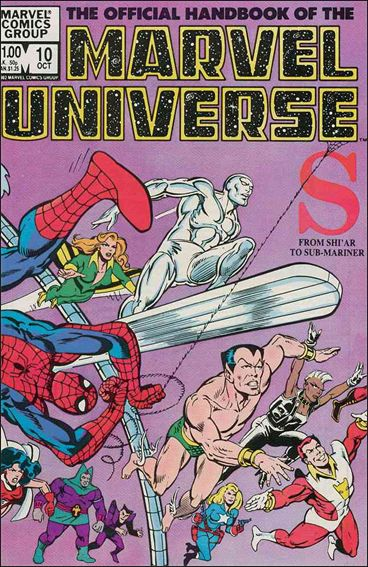 Official Handbook of the Marvel Universe (1983) 10-A by Marvel