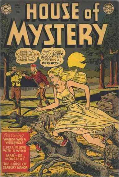 House of Mystery (1951) 1-A by DC