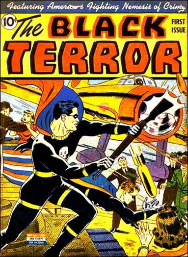 Black Terror (1942) 1-A by Nedor