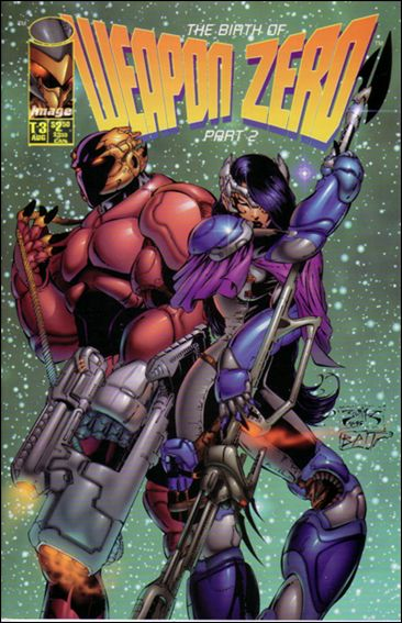 Weapon Zero (1995) T-3-A by Image