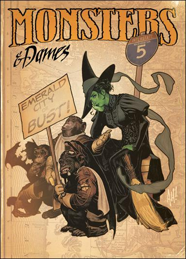 Monsters & Dames: ECCC 2011 Art Book nn-A by Brand Studio Press