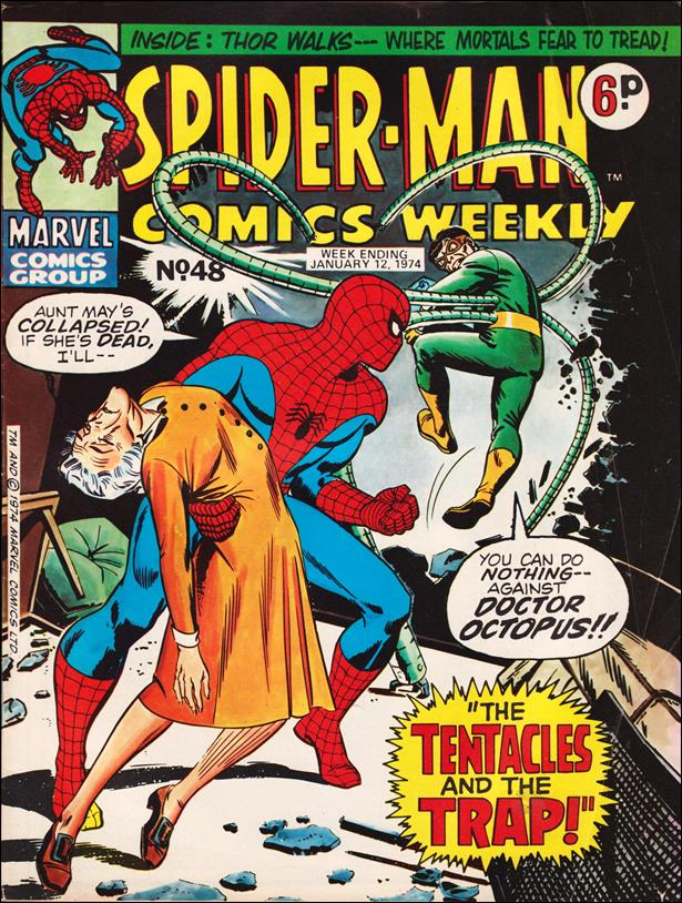 Spider-Man: Comics Weekly (UK) 48-A by Marvel UK