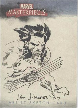 2007 Marvel Masterpieces (Sketch Card Subset) JJ-A