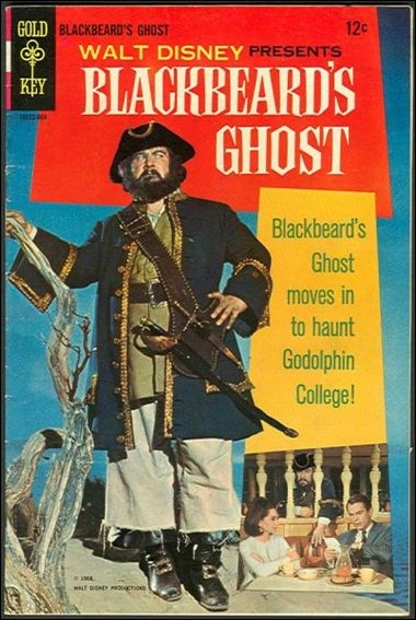 Walt Disney Presents Blackbeard's Ghost nn-A by Gold Key