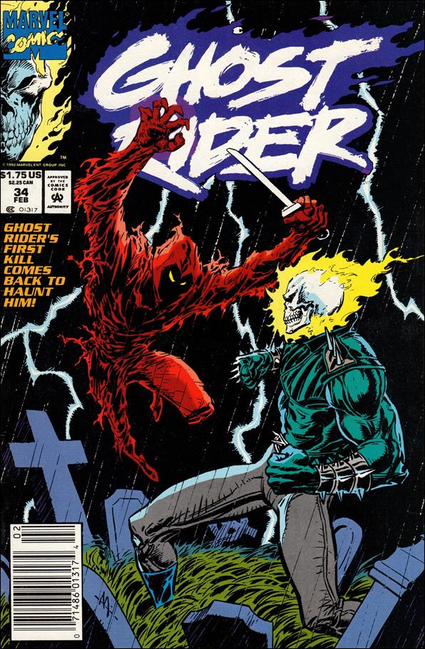 Ghost Rider (1990) 34-A by Marvel