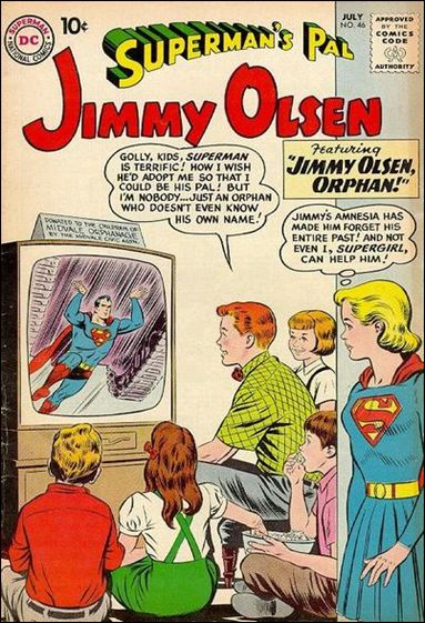 Superman's Pal Jimmy Olsen 46-A by DC