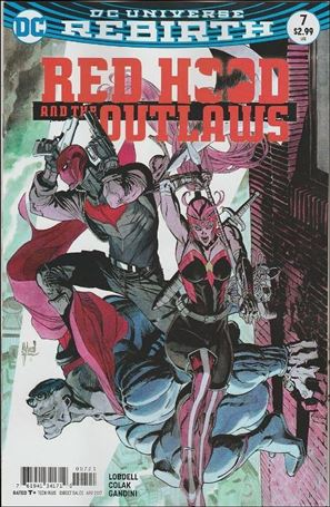 Red Hood and the Outlaws (2016) 7-B