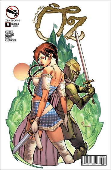Grimm Fairy Tales Presents Oz 5-A by Zenescope Entertainment