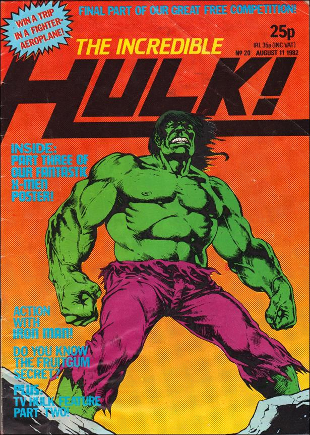 Incredible Hulk (UK) 20-A by Marvel UK