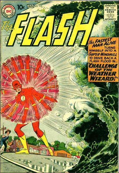 Flash (1959) 110-A by DC
