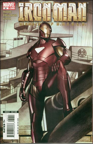 Iron Man: Director of S.H.I.E.L.D. 32-A by Marvel